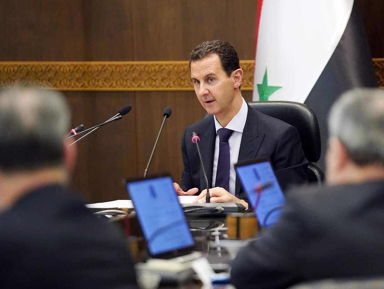 Photo of الأسد يوصي الحكومة بالشفافية وتزويد المواطن بالمعلومات لتعزيز التواصل