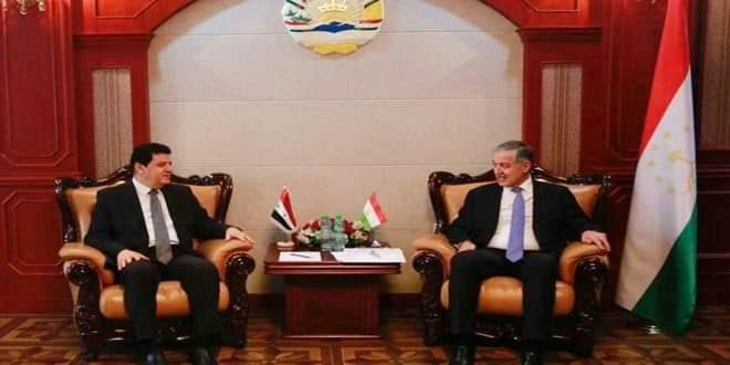 Photo of Tajikistan Foreign Minister affirms his country's support for Syria in its war on terrorism