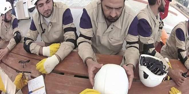Photo of Israeli media reveals occupation government's involvement in fabrication of chemical incidents by White Helmets