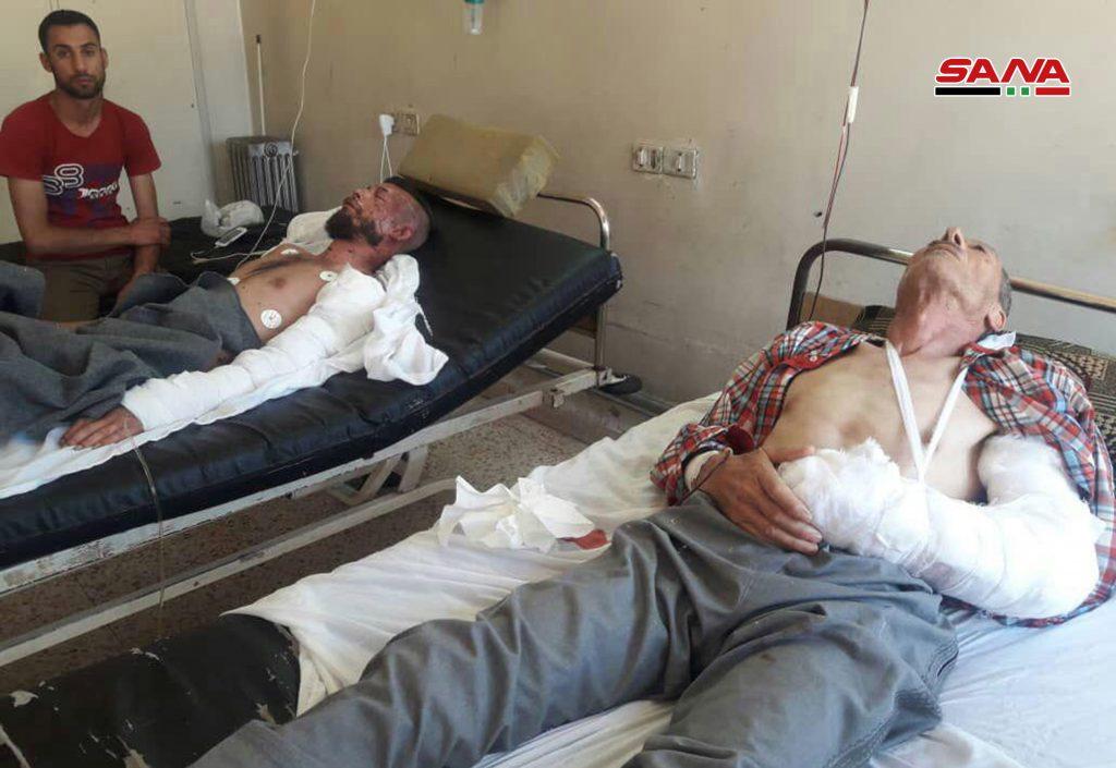 Photo of استشهاد امرأة وإصابة 7 مدنيين بصواريخ إرهابية على السقيلبية وسلحب وقمحانة بريف حماة