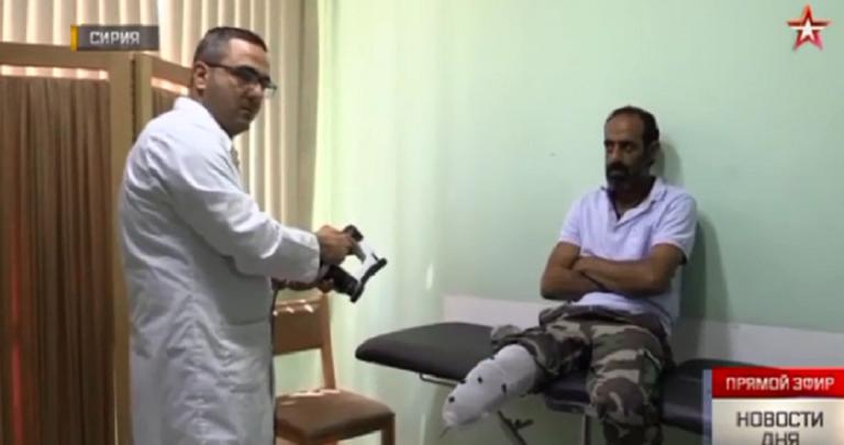 Photo of أطباء روس يصلون سورية لمعالجة ضحايا الحرب