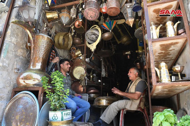 "Photo of أسواق ""حلب القديمة"" تستعيد نبضها بعد إعادة ترميمها وتأهيلها"