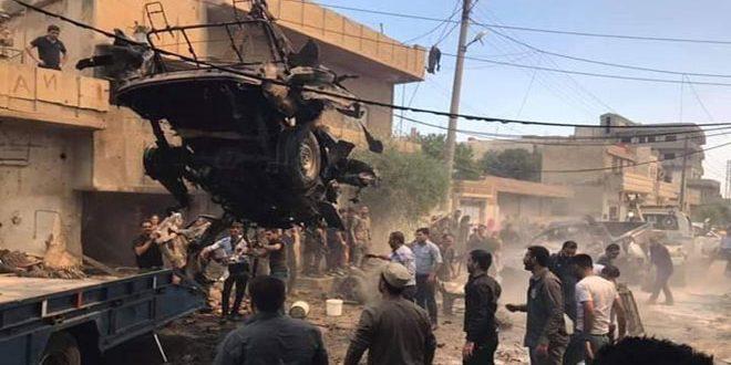 Photo of استشهاد وجرح عدد من المدنيين في تفجير سيارة مفخخة بالقامشلي