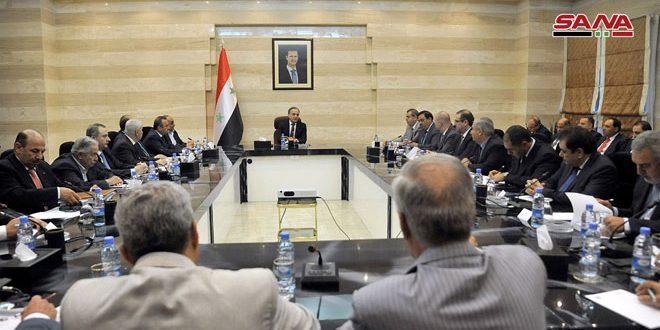 Photo of الحكومة السورية تبحث دعم الإنتاج والصادرات والاستثمار مع الاتحادات الاقتصادية