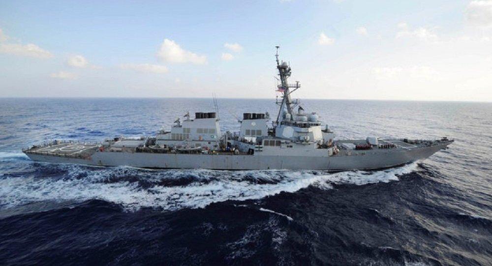 """Photo of واشنطن ترسل المدمرة """"يو إس إس ميسون"""" إلى خليج عمان"""