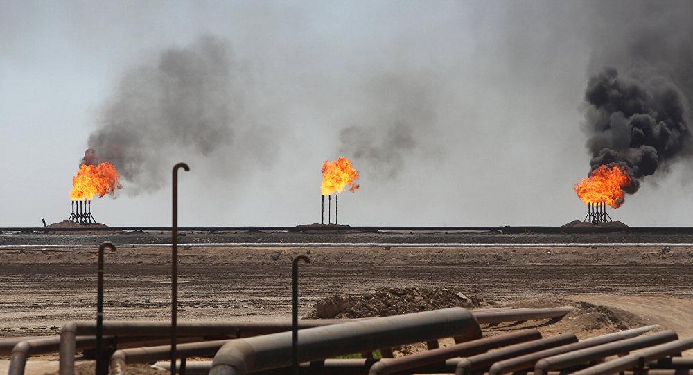 Photo of قصف شركة لحفر الآبار النفطية في جنوب العراق