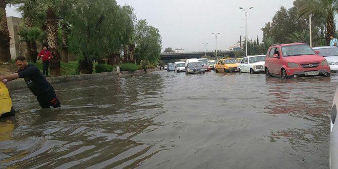 Photo of دراسة لدرء السيول عن دمشق بانشاء قناة من معربا