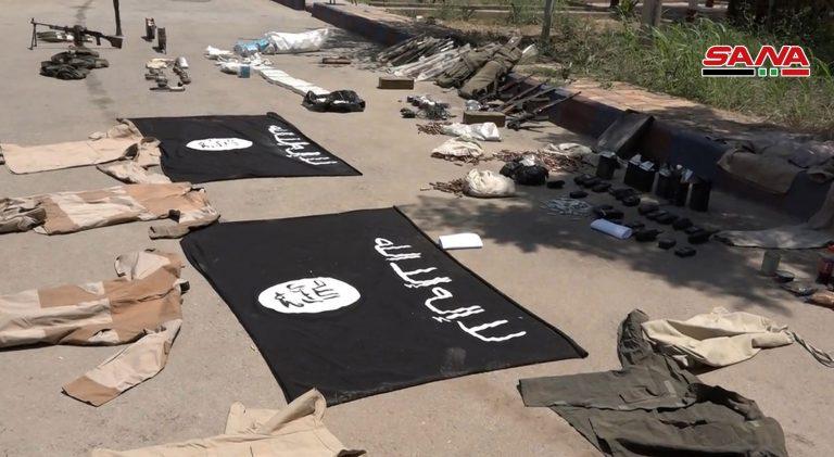 Photo of ضبط أسلحة وذخائر بعضها إسرائيل بدير الزور