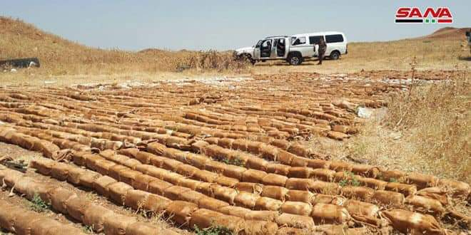 Photo of Four tons of C-4, left behind by terrorists found in al-Yarmouk basin