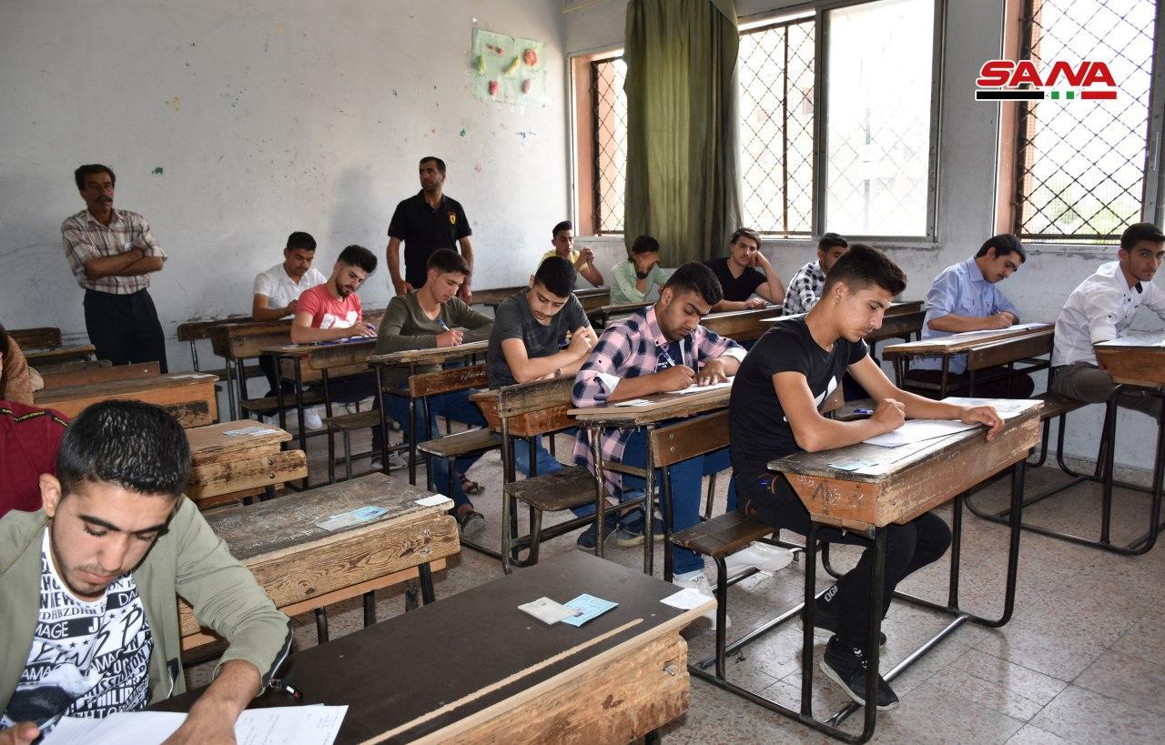 "Photo of 525 ألف طالب سوري بامتحانات "" التاسع والبكلوريا"""