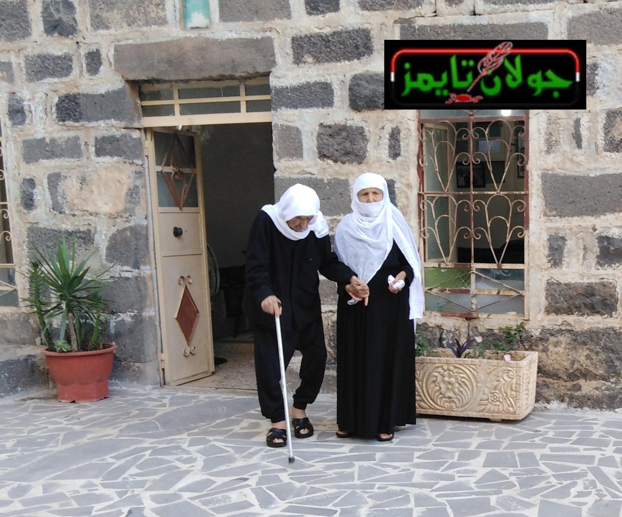 Photo of توفيق الخطيب أكبر معمر في مدينة شهبا بمحافظة السويداء