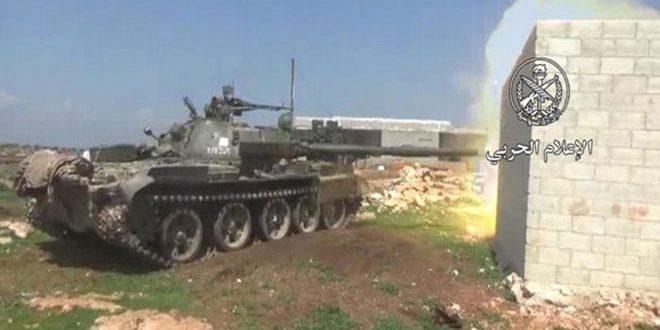 Photo of الجيش يوسع نطاق عملياته ضد النصرة بريفي حماة وادلب