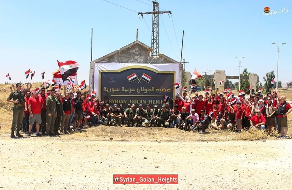 Photo of الجمعية السورية للإستكشاف والتوثيق في نشاط ( إلى جولاني )