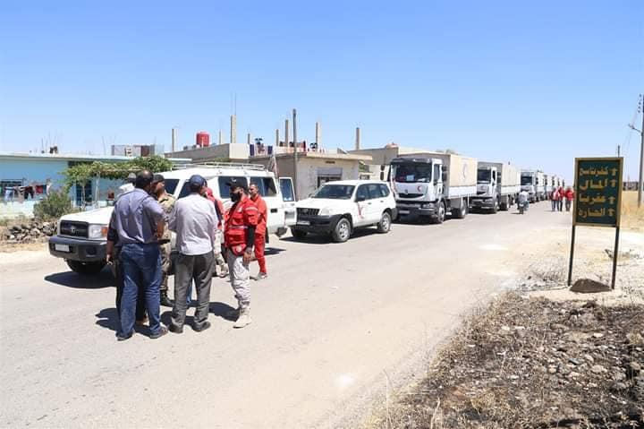Photo of الهلال الأحمر يستجيب لـ7500 عائلة في ريف درعا