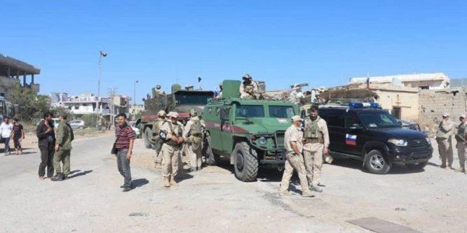 دون إصابات… استهداف دورية روسية في درعا