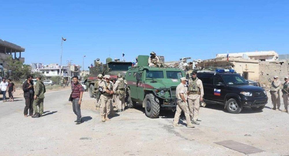 Photo of دون إصابات… استهداف دورية روسية في درعا