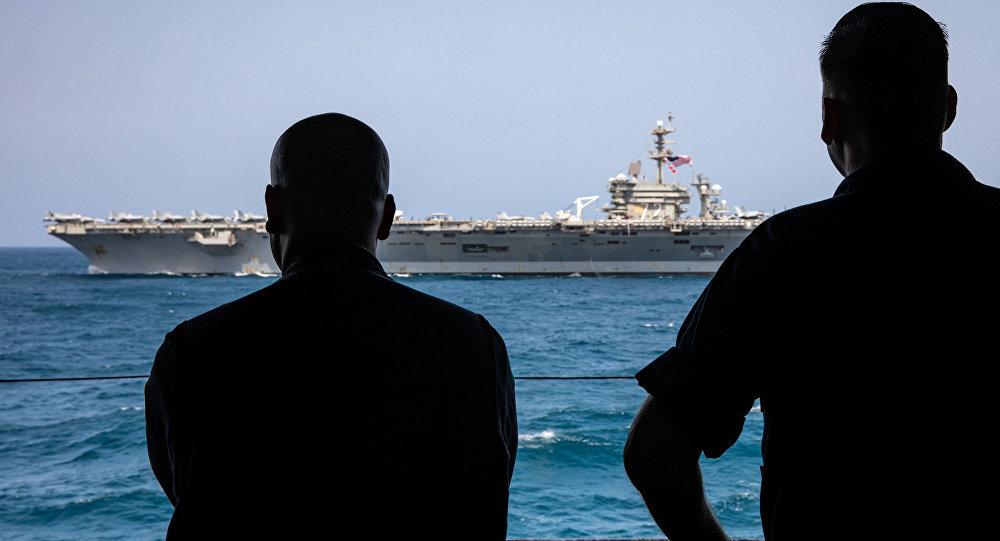 Photo of قائد عسكري أمريكي يرد على خطة أوروبا البحرية في الخليج