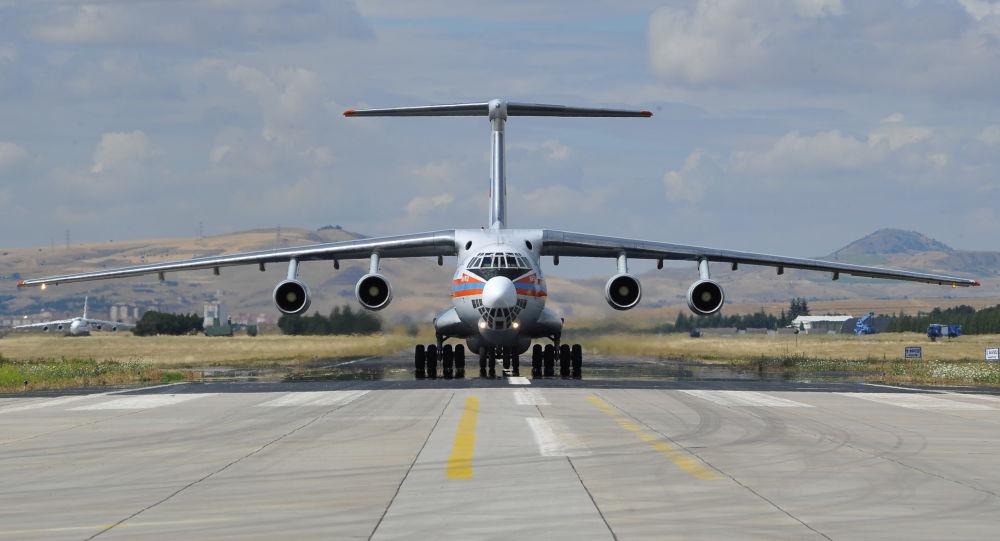 """Photo of وصول الطائرة الثامنة المحملة بأجزاء منظومة """"إس-400"""" إلى تركيا"""
