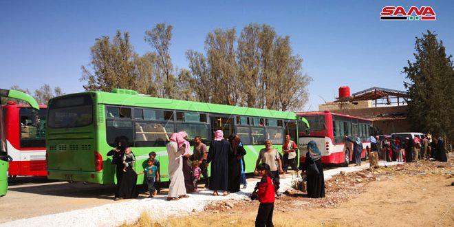 Photo of دفعة جديدة من مخيم الركبان تصل الى ممر جلعيم