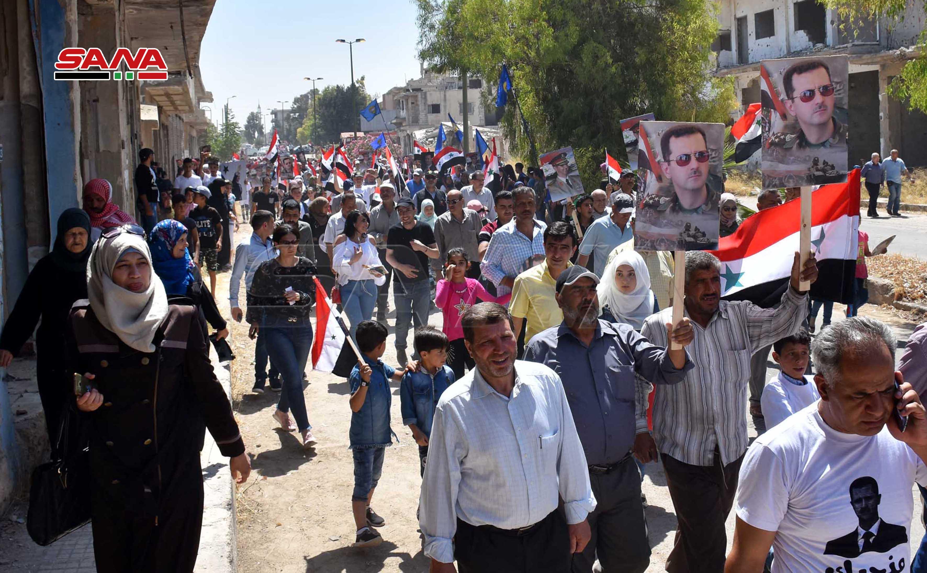 Photo of بعد سبع سنوات .. عودة أهالي القصير إلى مدينتهم