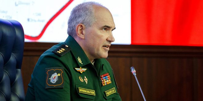 Photo of الأركان الروسية: قوات الاحتلال الأمريكية تواصل تدريب الإرهابيين وتنهب الحقول النفطية في منطقة الفرات