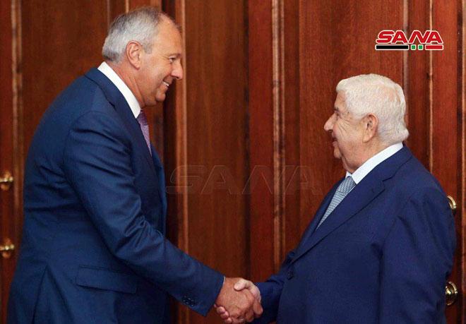 "Photo of توافق ""سوري- بيلاروسي"" على تعزيز العلاقات الاقتصادية"