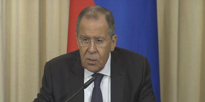 Photo of لافروف: الولايات المتحدة تقوم بأعمال لا تتطابق مع منطق مكافحة الإرهاب