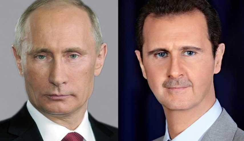 Photo of برقية تهنئة من الرئيس الأسد لرئيس بوتين بمناسبة الذكرى الخامسة والسبعين لإقامة العلاقات الدبلوماسية بين سورية وروسيا