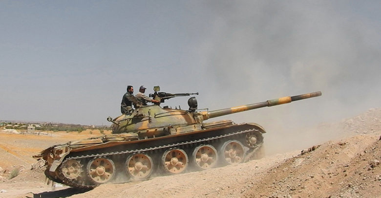 "Photo of الجيش يقصف ""النصرة"" في ريف حماه الشمالي ويوقع قتلى ومصابين"