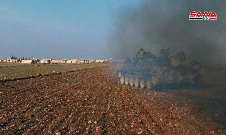 Photo of رمايات نارية مركزة ضد مقرات النصرة بريف حماة الشمالي