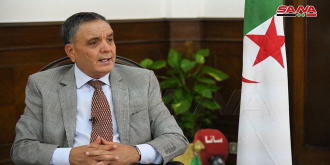 Photo of الجزائر تعود إلى تفعيل العلاقات الاقتصادية مع دمشق