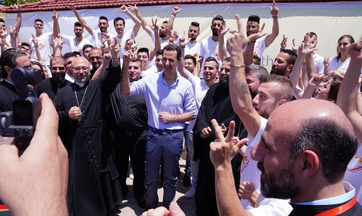 Photo of الأسد من صيدنايا: المسيحيين في سوريا كانوا وما زالوا بناة حضارة إنسانية