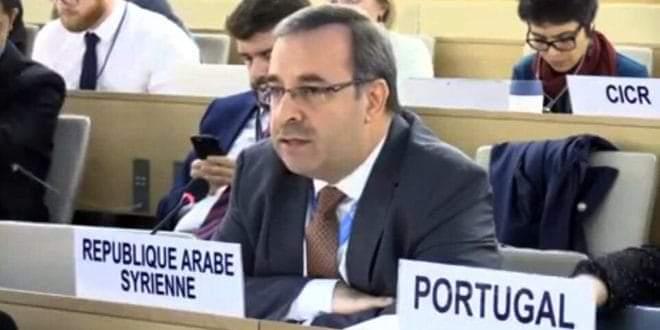 Photo of السفير آلا سورية تعارض تسييس أعمال مجلس حقوق الإنسان