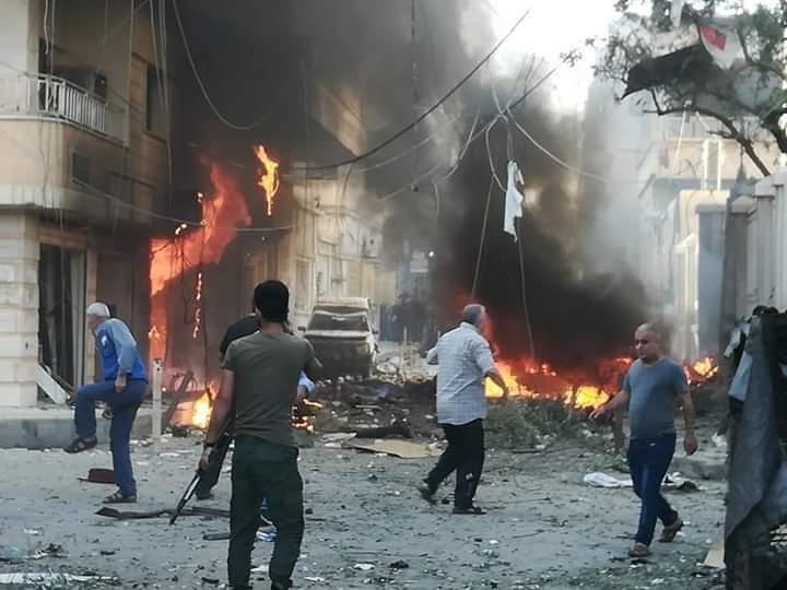 Photo of انفجار جانب كنيسة السيدة العذراء في الحسكة