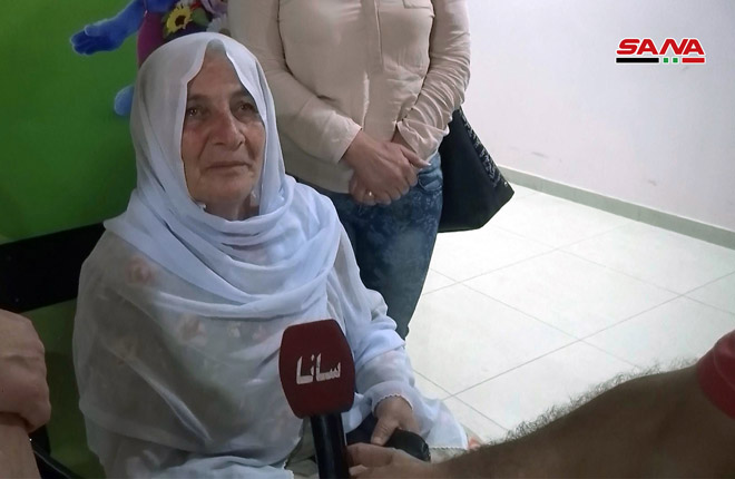 "Photo of لقاءات مع أهالي ""صحنايا"" بعد العدوان الاسرائيلي"
