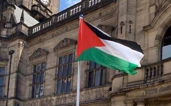 Photo of بلدية شيفيلد البريطانية تعترف بفلسطين