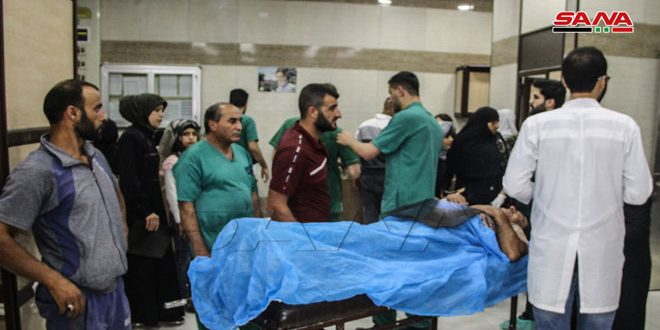 Photo of One civilian martyred, others injured in a terrorist shelling attack in Aleppo City