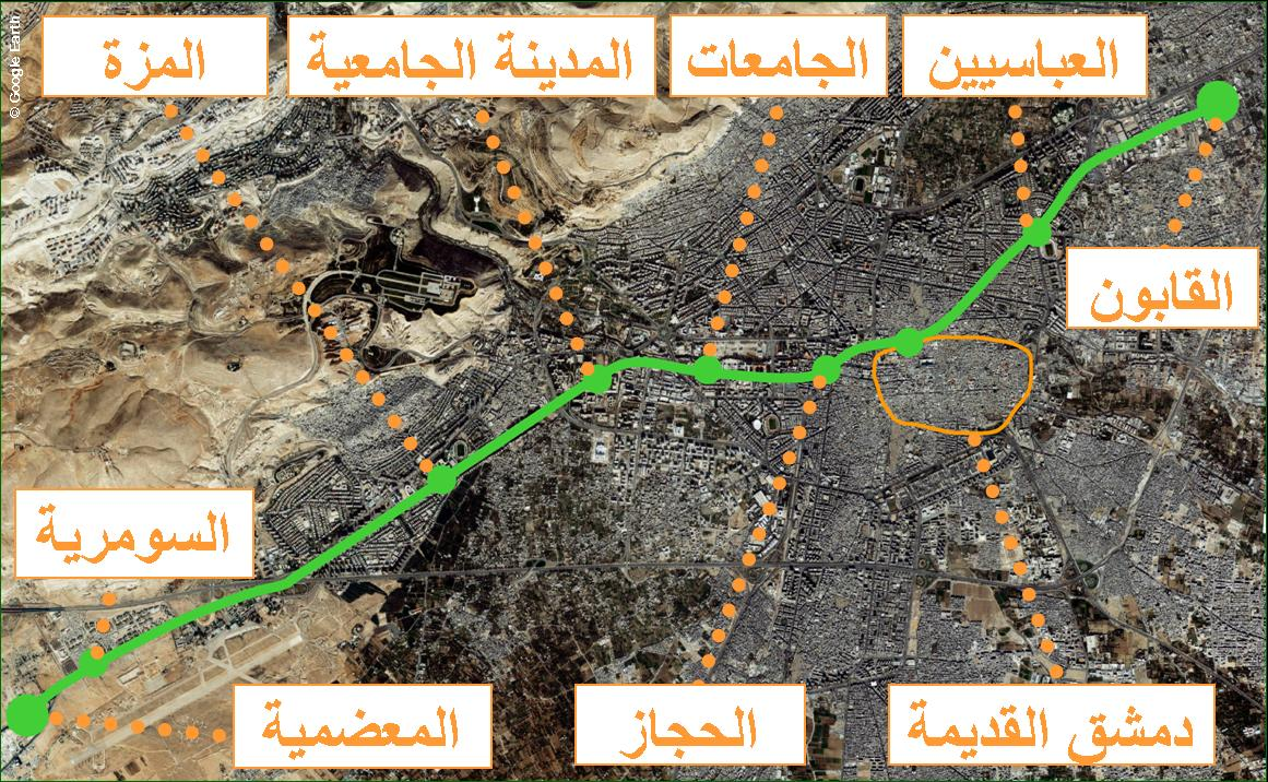 Photo of إيران تعرض تنفيذ مترو دمشق