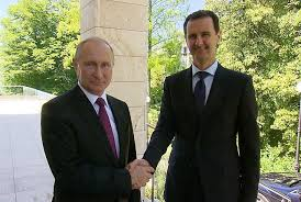 Photo of الكرملين: بوتين يهنئ الأسد بمناسبة مرور 75 عاما على إقامة العلاقات الدبلوماسية بين البلدين