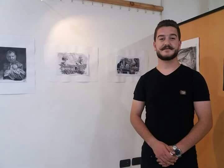 Photo of نمر هلال تعددت مواهبه و التميز واضح بكل تفاصيل لوحاته