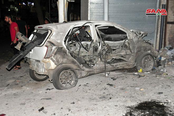 Photo of (فيديو- صور) – ٣ شهداء و٧ إصابات بالتفجير الارهابي بالسويداء
