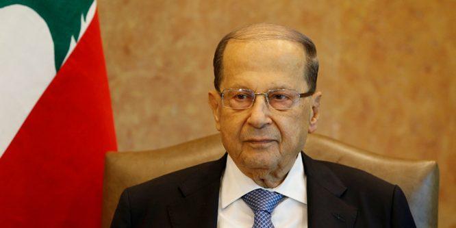 عون: هجمات الطائرات المسيرة الإسرائيلية في لبنان هي بمثابة إعلان حرب