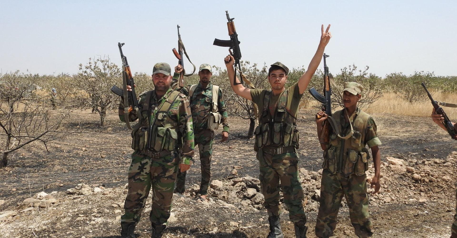 Photo of الجيش العربي السوري على مشارف خان شيخون