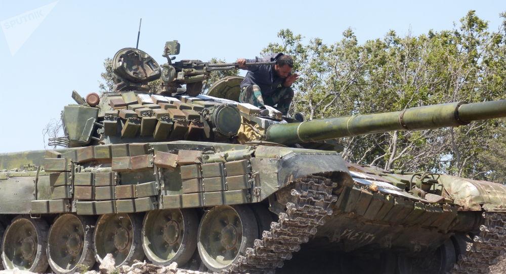 "Photo of الجيش يسيطر على ناحية ""التمانعة"" شرق خان شيخون بريف إدلب"