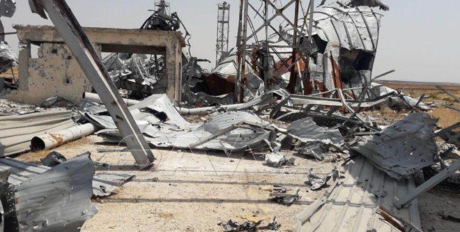 توثيق جرائم الإرهاب في بلدة تل الصخر المحررة بريف ادلب