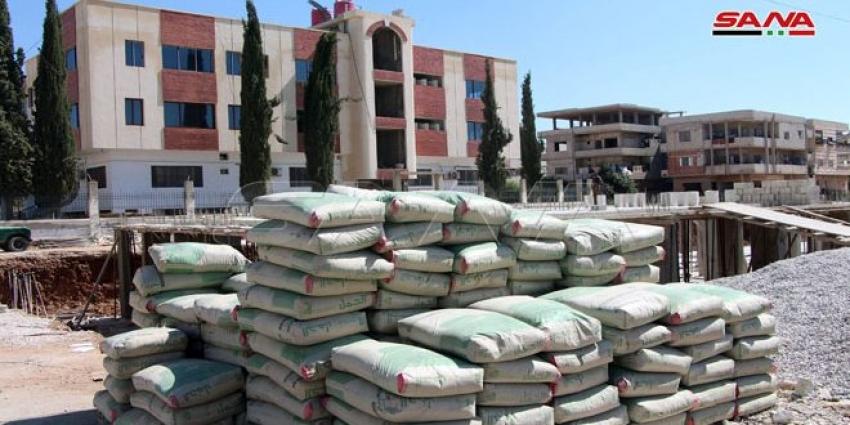 """Photo of درعا.. مؤسسة """"عمران"""" تعتمد آلية البيع المباشر للإسمنت"""