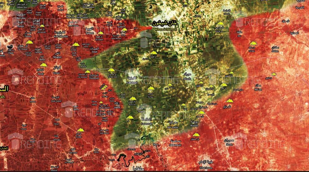 "Photo of ""نصر جديد"" .. الجيش يُحرر كفر عين وخربة مرشد والمنطار وتل عاس بريف إدلب الجنوبي"