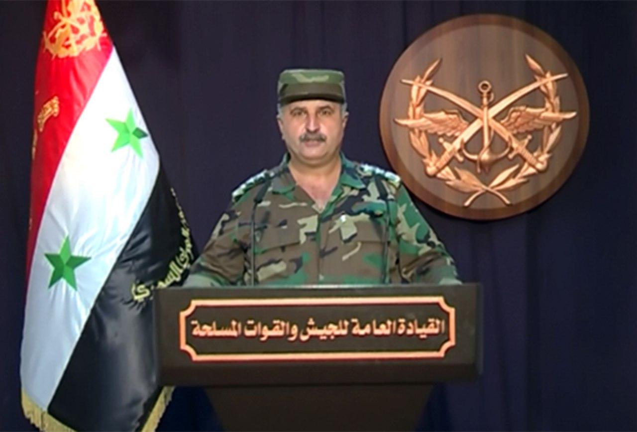 """Photo of هيئة الأركان تُعلن تحرير"""" خان شيخون"""" وعدد من البلدات ريف حماة الشمالي"""""""