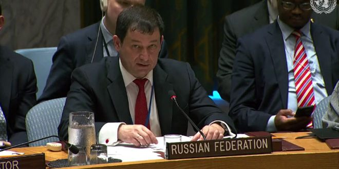 Photo of بوليانسكي: الوجود الإرهابي في سورية أمر غير مقبول