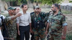 """Photo of """"الرئيس الأسد"""" لرجال الجيش العربي السوري.. يا رجال الكرامة والشرف.. كل عام وأنتم بخير"""